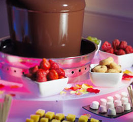 Chocolate Fountain for Thought Surrey